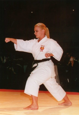Kelly in Competition.